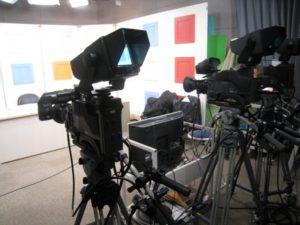 TVカメラ撮影